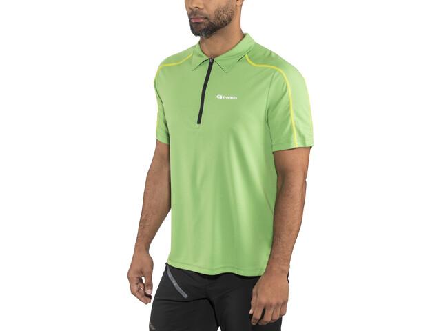 Gonso Henrik Bike Poloshirt Men fluorite green